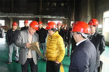 2012年1月31日,时任嘉兴市委书记鲁俊率领市发改委等市级部门负责人到公司调研