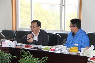 2013年3月18日,时任国家工信部节能司副司长杨铁生一行莅临公司参观指导